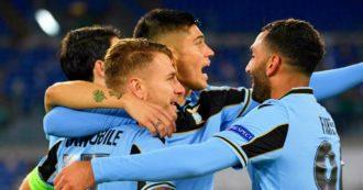 Lazio-Borussia Dortmund 3-1, il ritorno in Champions League dopo 13 anni è una festa