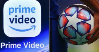 Amazon mette il calcio nel mirino: dal 2021 trasmetterà 16 partite di Champions League