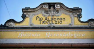 Pio Albergo Trivulzio di Milano, positivi al Covid 14 ospiti e cinque dipendenti