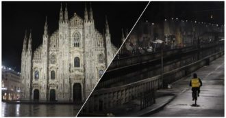 """Coprifuoco in Lombardia, dal Duomo ai Navigli: Milano si """"spegne"""" alle 23 per combattere i contagi. Il video-racconto della città deserta"""