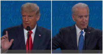 """Elezioni Usa, Trump: """"Io il migliore coi neri da Lincoln"""". Biden: """"Sei uno dei presidenti più razzisti della storia"""""""