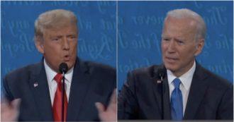 """Usa 2020, Trump: """"Con Kim buone relazioni"""". Biden: """"Come dire di avere buoni rapporti con Hitler prima che invadesse l'Europa"""""""