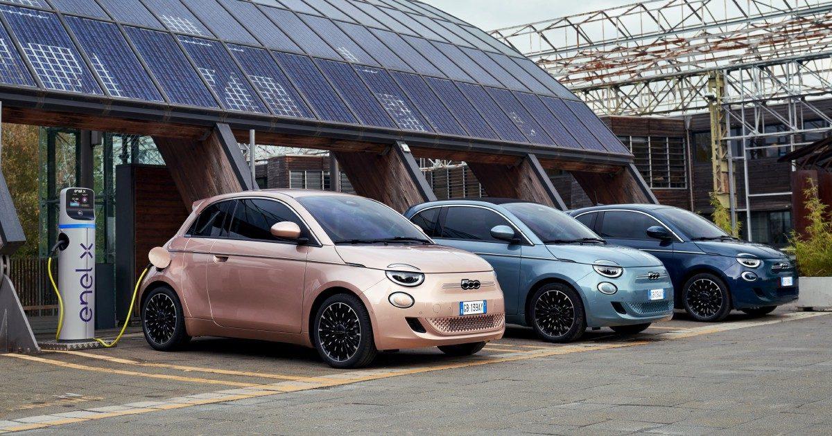 """La nuova Fiat 500 va """"controvento"""" spinta dall'elettrico"""