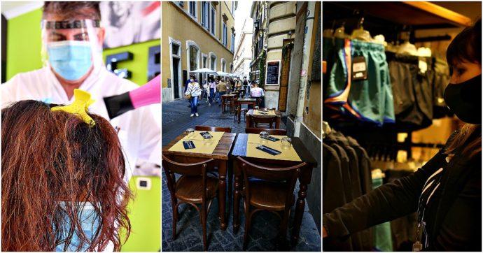 Dpcm, cosa si può e non si può fare da oggi: i parrucchieri sono aperti, al ristorante non più di 4 al tavolo, è raccomandato non muoversi
