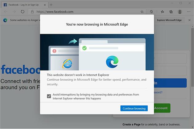 Microsoft, nuovo tentativo per pensionare il vecchio web browser Internet Explorer