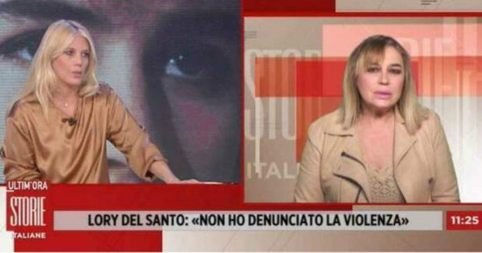 """Storie Italiane, Lory Del Santo: """"Un uomo mi ha picchiato e io ero inerte. Denunciate sempre, non abbiate paura"""""""