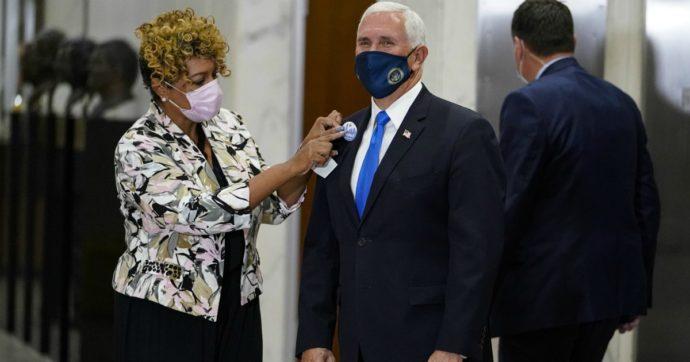 """Coronavirus, Casa Bianca: """"Non controlleremo la pandemia"""". 5 positivi nello staff di Pence"""