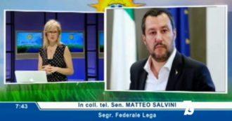 """Quando a giugno Salvini diceva: """"Perché dovrebbe esserci una seconda ondata? Inutile continuare a terrorizzare le persone"""""""