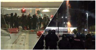 Coronavirus, assalto al palazzo della Regione Lombardia: il video degli scontri con la polizia