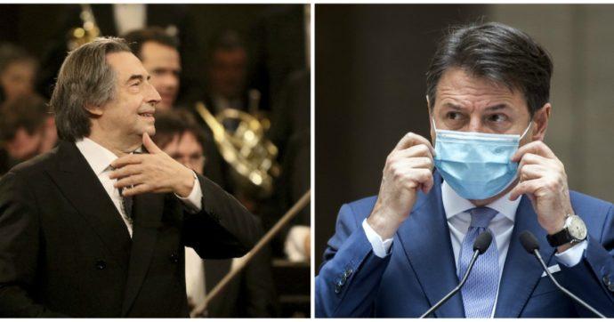 """Giuseppe Conte, la lettera a Riccardo Muti: """"Gentile Maestro, la mia è stata una decisione grave e particolarmente sofferta"""""""