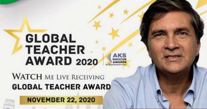 'Nobel' per l'insegnamento a un prof italiano: per fare il proprio mestiere non serve essere eroi