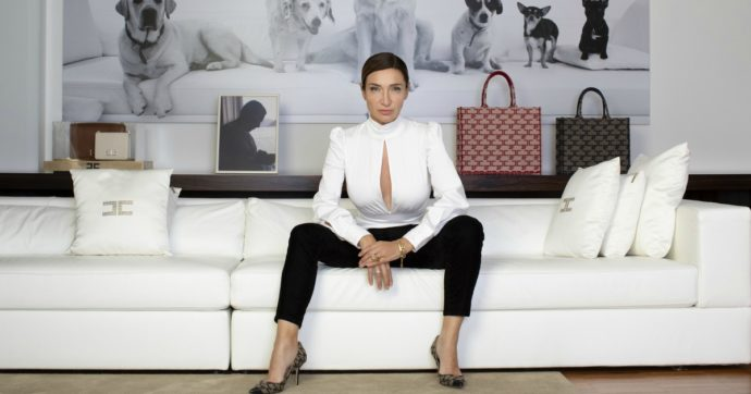 """Elisabetta Franchi: """"In pieno lockdown sul mio e-commerce compravano abiti da sera, non t-shirt. Mi sono chiesta più volte: ma dove li mettono?"""""""