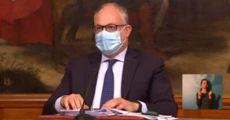 """Decreto Ristori, Gualtieri: """"Da 5mila a 25mila euro per i ristoranti e fino a 30mila euro per teatri e sale da concerti"""""""