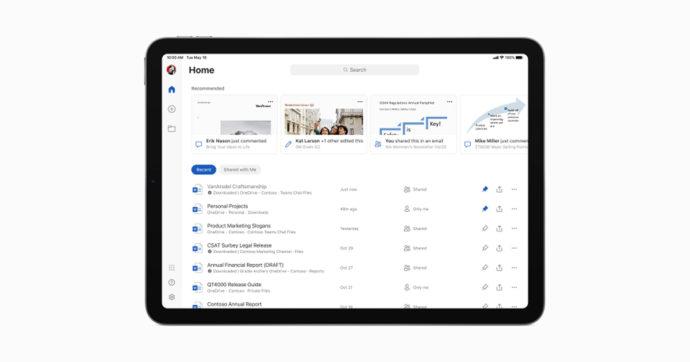 Office per iPad si arricchisce di supporto per mouse e trackpad