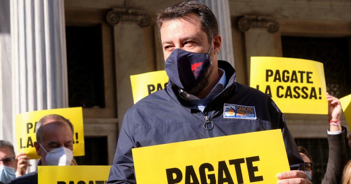 """Salvini aizza i suoi leghisti: """"Attaccate tutti il Dpcm"""""""