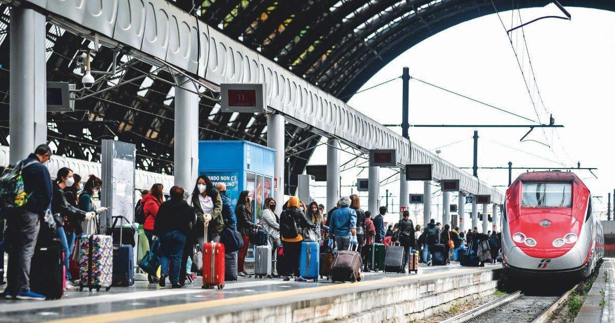 Viaggiano in treno fino a Napoli i test lombardi
