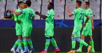 Brugge-Lazio 1-1: Correa e difesa, un punto d'oro per una squadra decimata dalle assenze