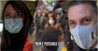 """Coronavirus, a Roma mezzi affollati e pendolari costretti a saltare le corse: """"Senza interventi sull'ora di punta del mattino, misure serali inutili"""""""