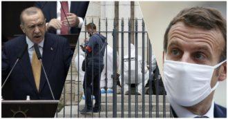 Attentato Nizza, dalle minacce di al-Qaeda agli attacchi di Erdogan a Macron e Charlie Hebdo: la Francia è di nuovo nel mirino dei jihadisti