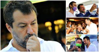 """La confusione di Salvini sulla gestione della pandemia: tra lockdown no e lockdown sì. """"Sarebbe il fallimento di 6 mesi di governo"""". Quando lui dubitava della seconda ondata (e girava senza mascherina)"""