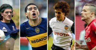 Maradona e la maledizione del 10: da Ortega a Riquelme fino a D'Alessandro e Aimar, tante investiture bruciate dal peso dell'eredità