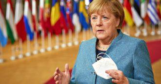 """Germania, Merkel difende il semi-lockdown: """"Fascia a rischio per Covid comprende 30/50% società"""". Pioggia di ricorsi dei ristoratori"""