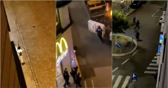 Attentato a Vienna, spari ed esplosioni in diverse parti della città. Nei video pubblicati su Internet, i terroristi combattono e inseguono