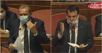 Salvini a Conte: 'Task force per collaborare sul Covid? È il Parlamento'. Licheri (M5S) ribatte: 'Noi qui da marzo, dite problemi senza soluzioni'