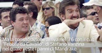 Addio a Gigi Proietti nel giorno dell'80 compleanno. La video-scheda sui suoi 55 anni di carriera