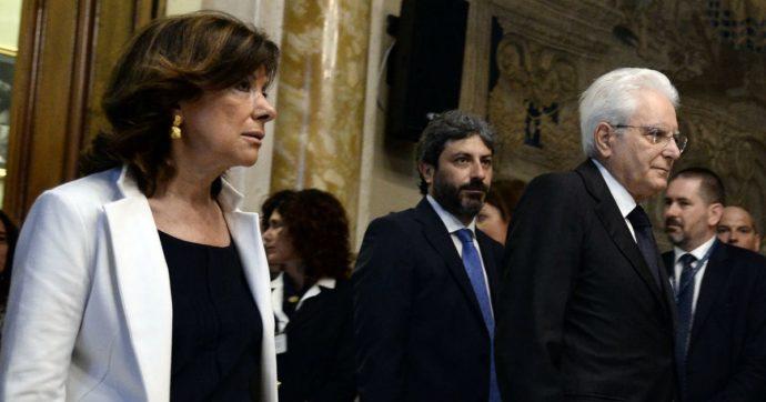 Casellati e Fico al Quirinale per colloquio con Mattarella su dialogo tra maggioranza e opposizione durante l'emergenza
