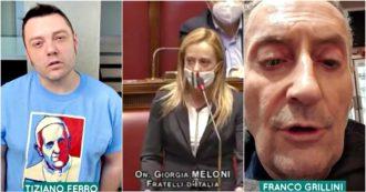 """""""Sì, Giorgia, siamo sicuri"""". Da Tiziano Ferro a Franco Grillini, la risposta della comunità Lgbt a Meloni: """"Aspettiamo la legge Zan da 30 anni"""""""