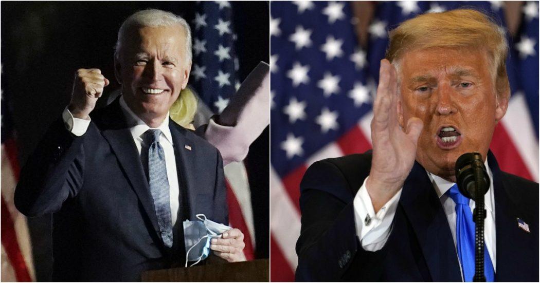 """Elezioni Usa 2020, cronaca del 5 novembre – Biden a pochi punti dalla vittoria: avanza in Nevada, testa a testa in Georgia. Attesa per l'Arizona. Trump: """"Stop al conteggio"""""""