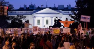 Elezioni americane 2020, centinaia di manifestanti si sono radunati davanti alla Casa Bianca. The Black Lives Matter Matter Show - Nelle immagini