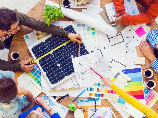 storia energia solare