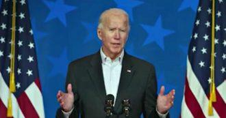 """Elezioni USA 2020, Biden: """"Non ho dubbi sulla mia vittoria. In una democrazia, devi essere paziente, ogni voto deve essere contato"""