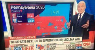 """Elezioni Usa 2020, Trump parla di brogli e le tv staccano il collegamento: """"Ciò che dice è assolutamente falso, dobbiamo interromperlo"""""""