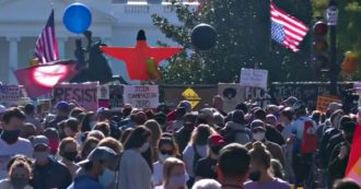 Stati Uniti 2020, migliaia di persone alla Casa Bianca: dal teatro delle proteste alla piazza delle feste
