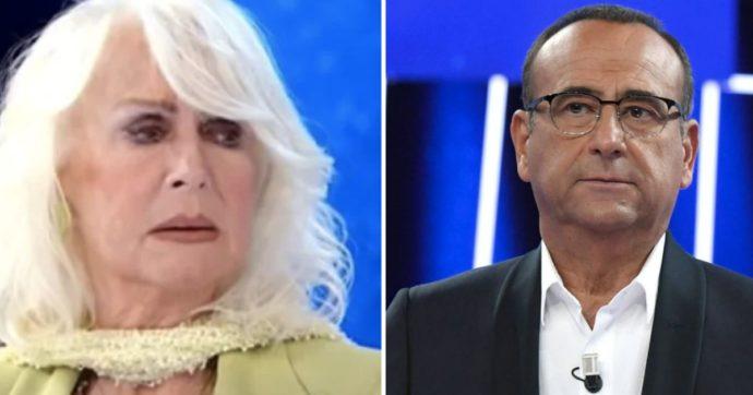 """Tale e Quale Show, Carlo Conti chiama dall'ospedale. Loretta Goggi in lacrime:""""E' morto Stefano D'Orazio"""""""