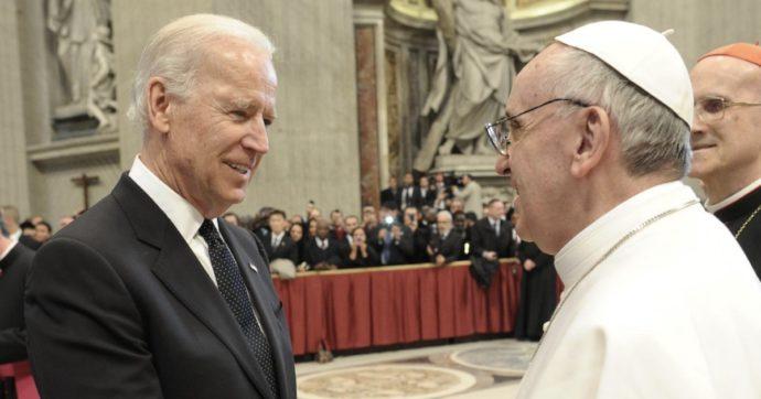 """La Chiesa cattolica non nasconde la soddisfazione: """"Congratulazioni a Biden e a Kamala Harris, prima donna vicepresidente"""""""