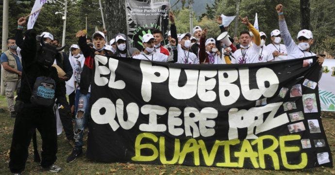 Colombia, il popolo crede nel processo di pace con le Farc ma il governo continua con le violenze