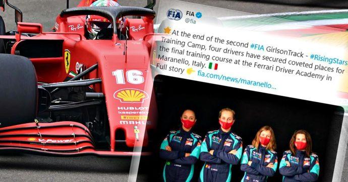 Ferrari, dopo 91 anni di storia Maranello apre alle pilote: in quattro si giocano un posto nell'accademia per correre con la Rossa