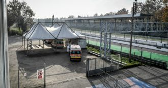 L'autodromo di Monza diventa un check-point per ambulanze e triage in tempo di Covid