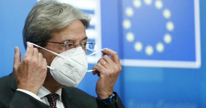 """Gentiloni: """"Patto di stabilità potrebbe essere sospeso anche nel 2022"""". Lagarde: """"Pieno sostegno della Bce a economia e popolazione Ue"""""""