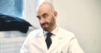"""Matteo Bassetti: """"Ero l'idolo della destra, ora non piaccio più perché difendo il vaccino"""""""