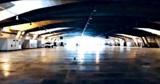 """Il Piemonte prepara un Covid hospital in un parcheggio sotterraneo (progettato da Morandi). Per il Politecnico """"ha travi corrose"""""""