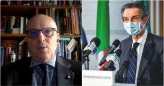 """Vaccino antinfluenzale, Ricciardi a SkyTg24: """"Lombardia si è mossa tardi, non può darlo neanche ai fragili"""". Ma Fontana smentisce"""