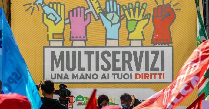 """In sciopero i 600mila lavoratori delle pulizie in scuole, ospedali e uffici: """"Contratto scaduto da 7 anni, serve un aumento dignitoso"""""""