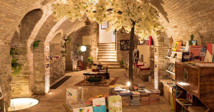 In Italia esistono luoghi magici, luoghi dell'anima e della natura. Come la libreria Pagina 27