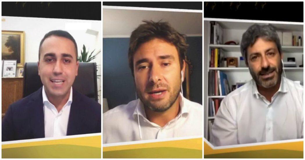 """Stati generali, dalle tensioni tra Di Maio e Di Battista alla mediazione di Fico: cos'è successo nel primo """"congresso"""" M5s. Ora il voto sulla leadership tocca alla rete"""