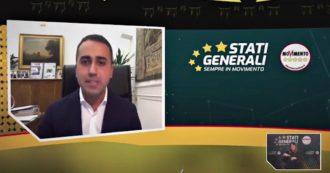 """Stati generali M5s, Di Maio: """"Movimento deve farsi valere di più nel governo e deve cambiare passo"""""""